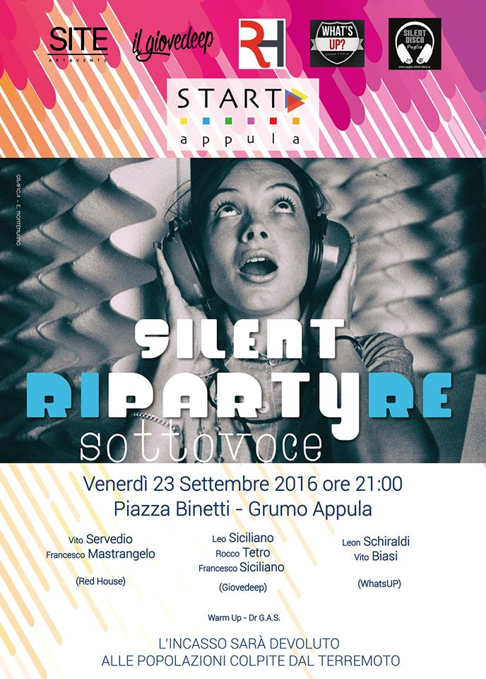 silent disco - riPartyre