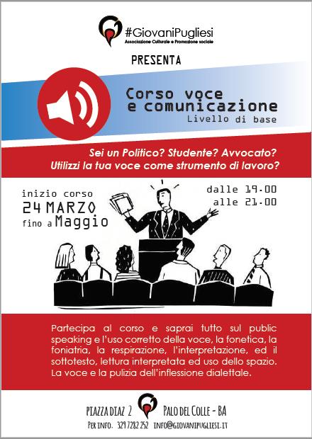 CORSO DI VOCE E COMUNICAZIONE